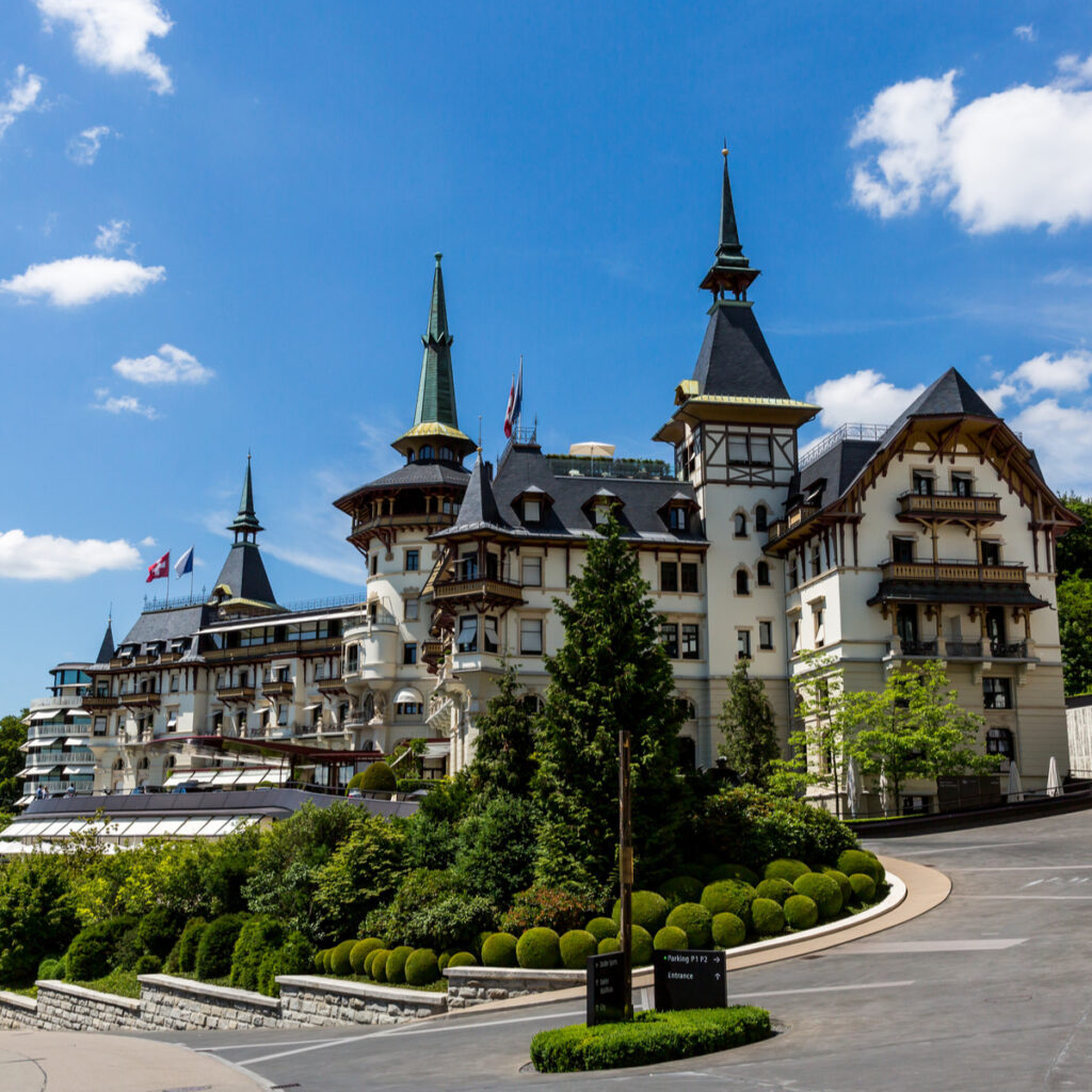 The Dolder Grand Zurich in Switzerland.