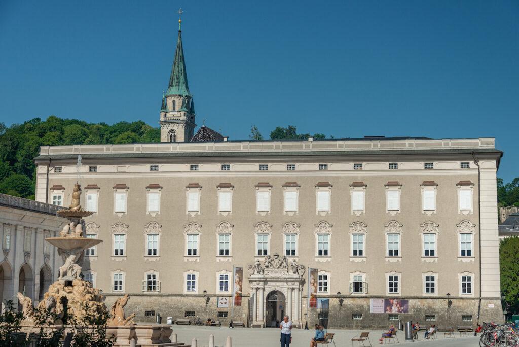 The DomQuartier Museum in Salzburg, Austria.