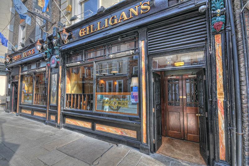 The Duke Pub in Dublin, Ireland.