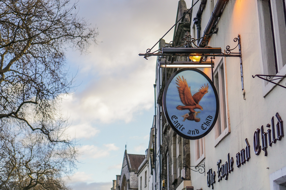 the eagle and child pub oxford