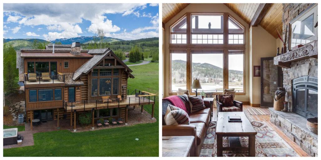 The Eagle's Landing Cabin rental in Idaho.