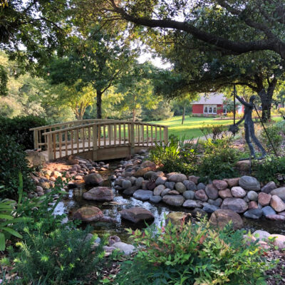 The East Texas Arboretum and Botanical Society in Athens.