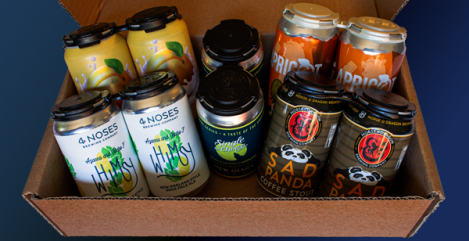 The Easy Drinker Box from Beer Drop