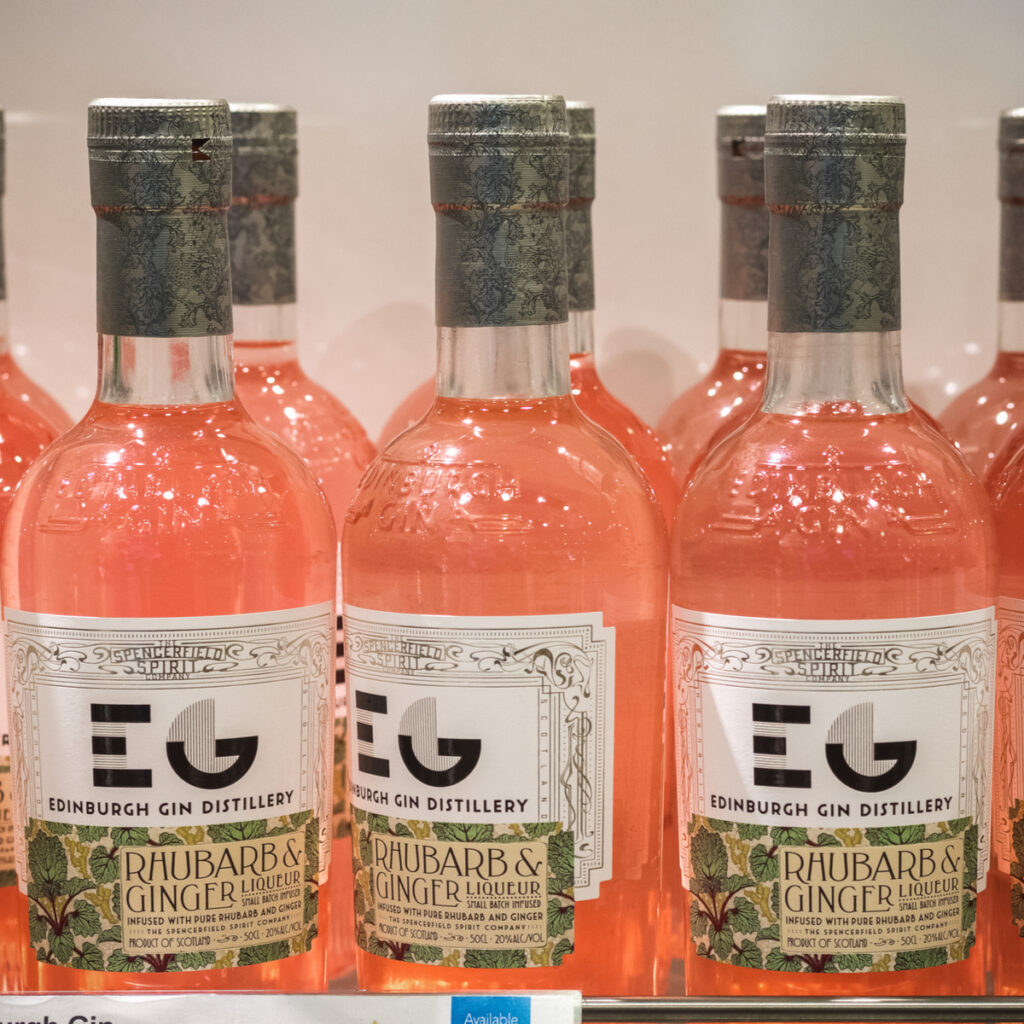 The Edinburgh Gin in Scotland.
