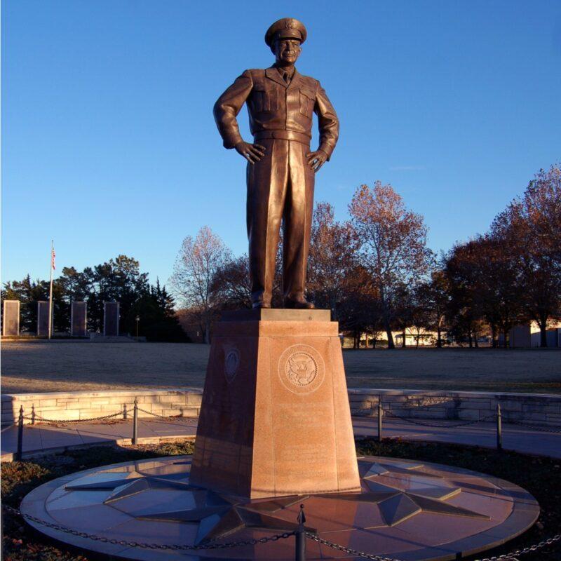 The Eisenhower Presidential Museum in Abilene.