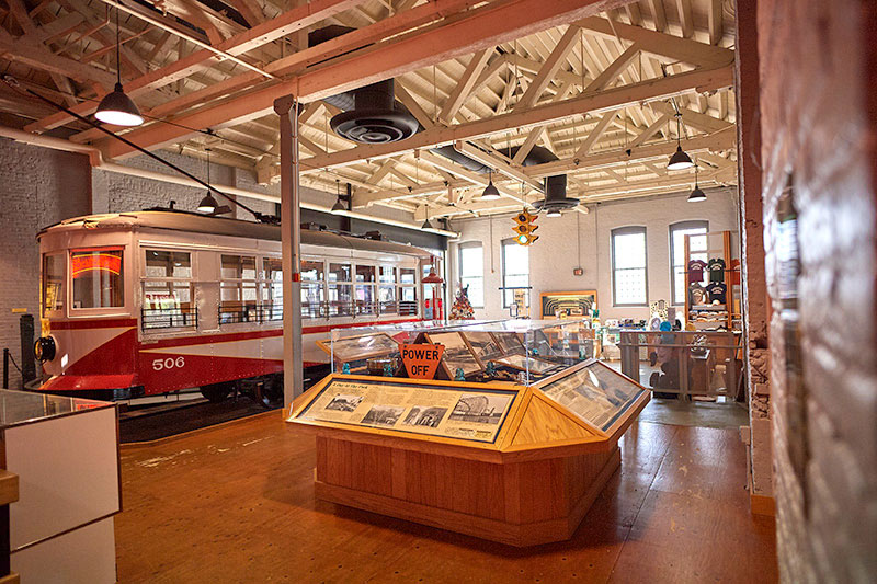 The Electric City Trolley Museum.