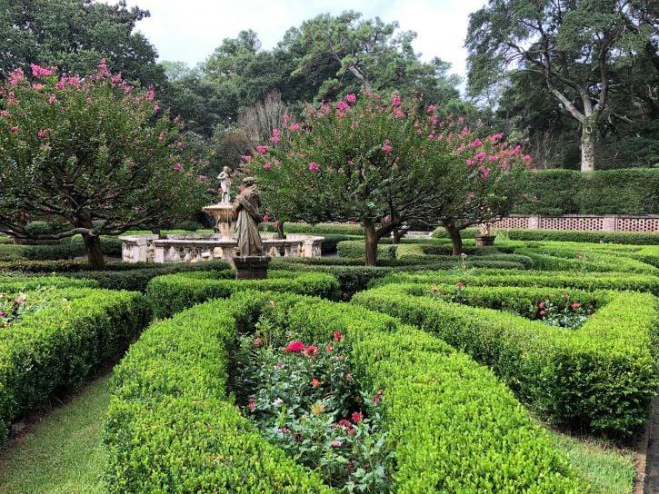 The Elizabethan Gardens in Manteo, North Carolina.