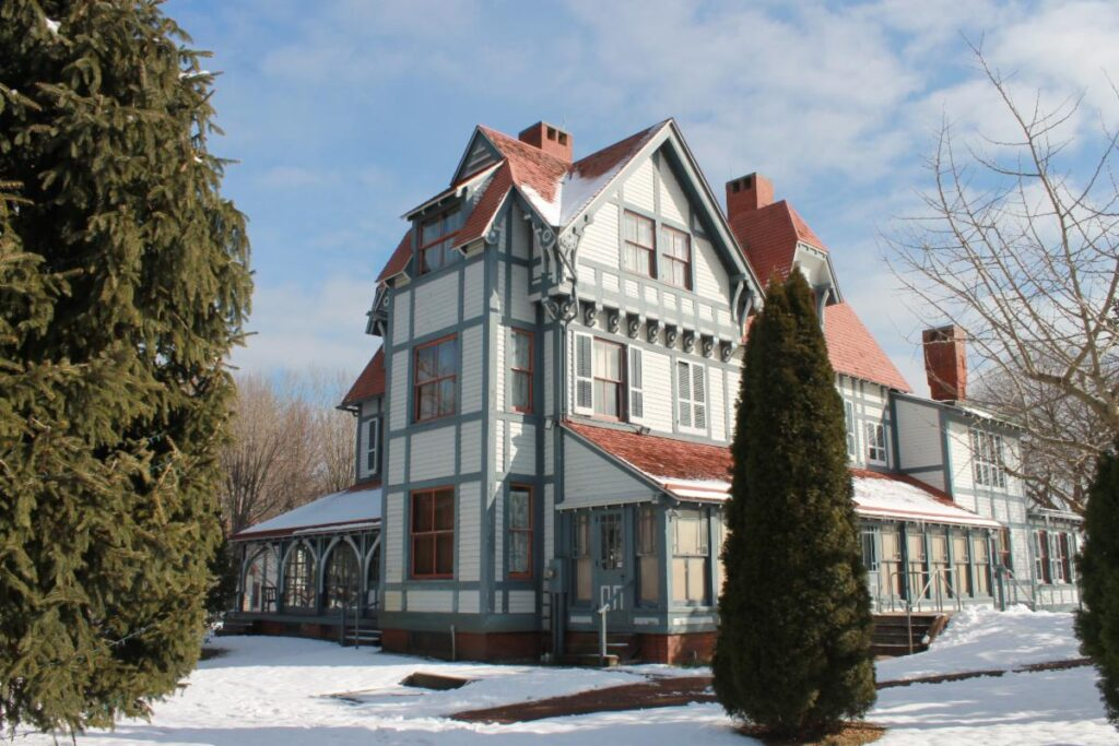 The Emlen Physick Estate, a Victorian home in Cape May.