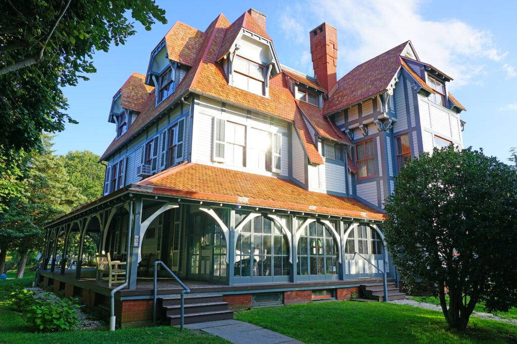The Emlen Physick Estate in Cape May, New Jersey.