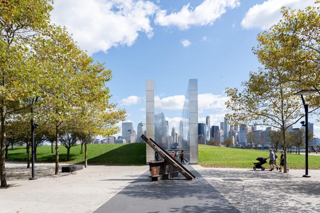 The Empty Sky Memorial in New Jersey.