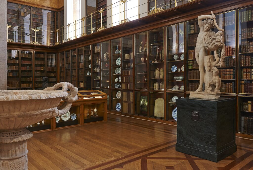 The Enlightenment Gallery in the British Museum.