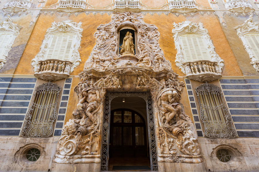 The entrance to El Museum Nacional de Ceramica.