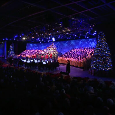 The EPCOT Candlelight Processional from 2019.