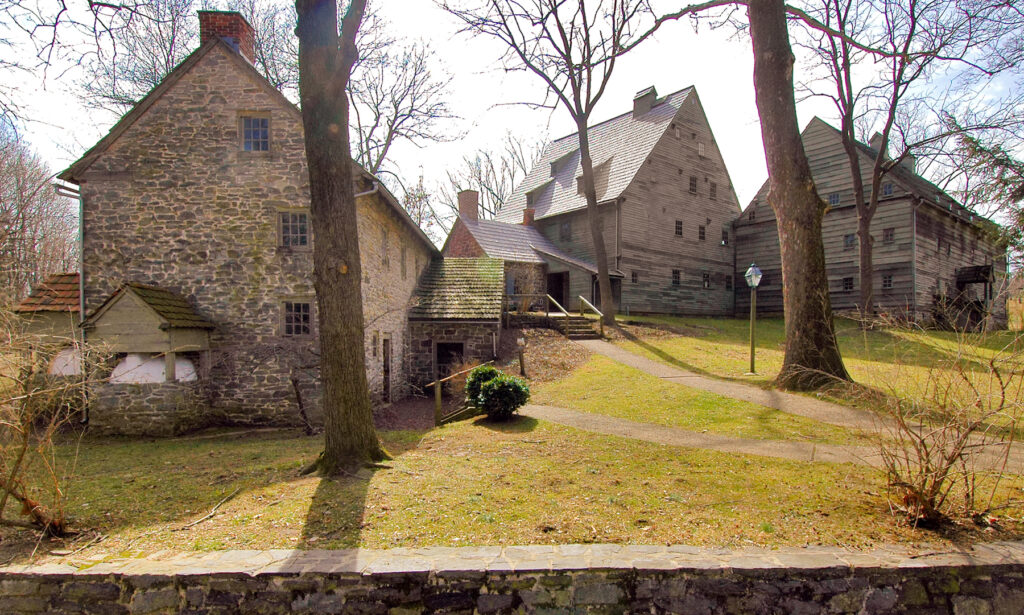 The Ephrata Cloister in Pennsylvania Dutch Country.