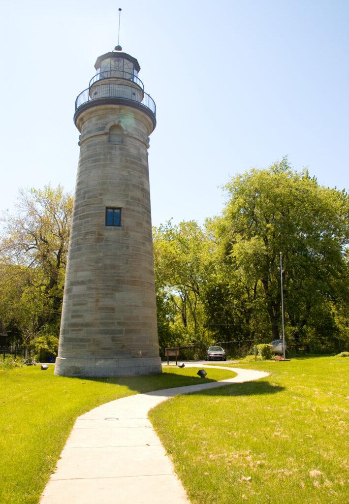 The Erie Land Lighthouse in Pennsylvania.
