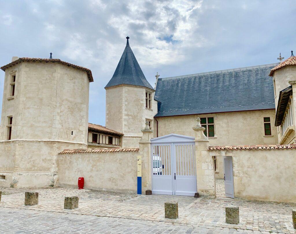 The Ernest Cognacq Museum on Ile de Re.