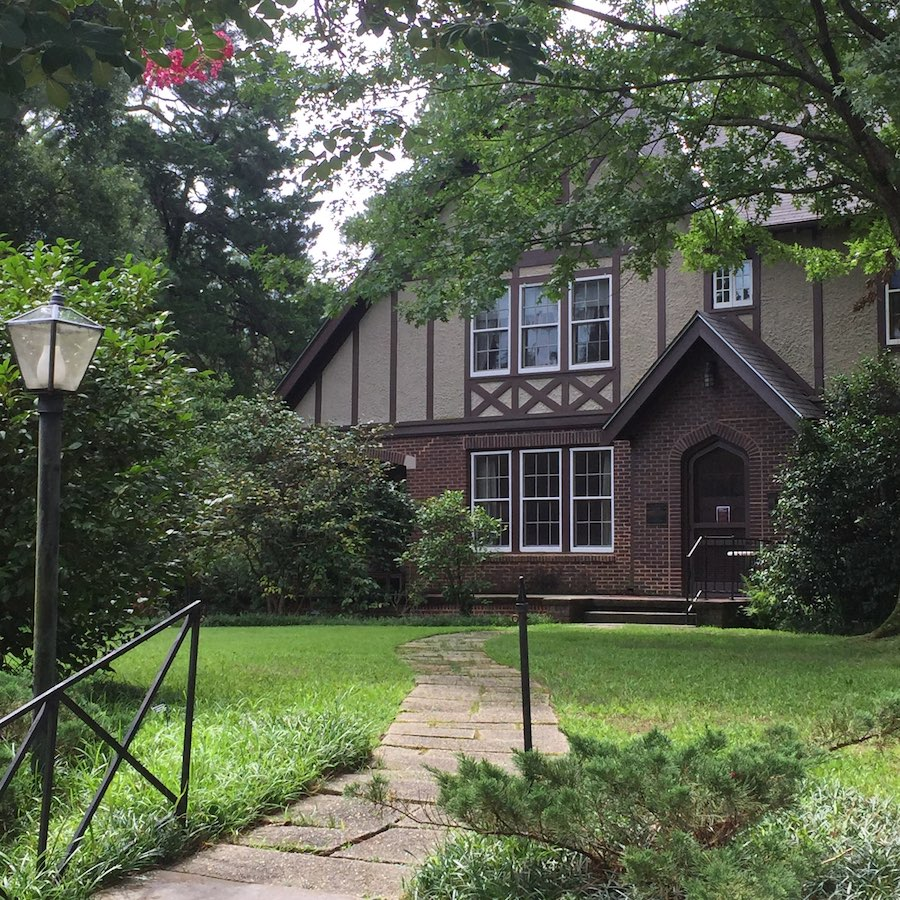 The Eudora Welty House and Garden in Jackson.