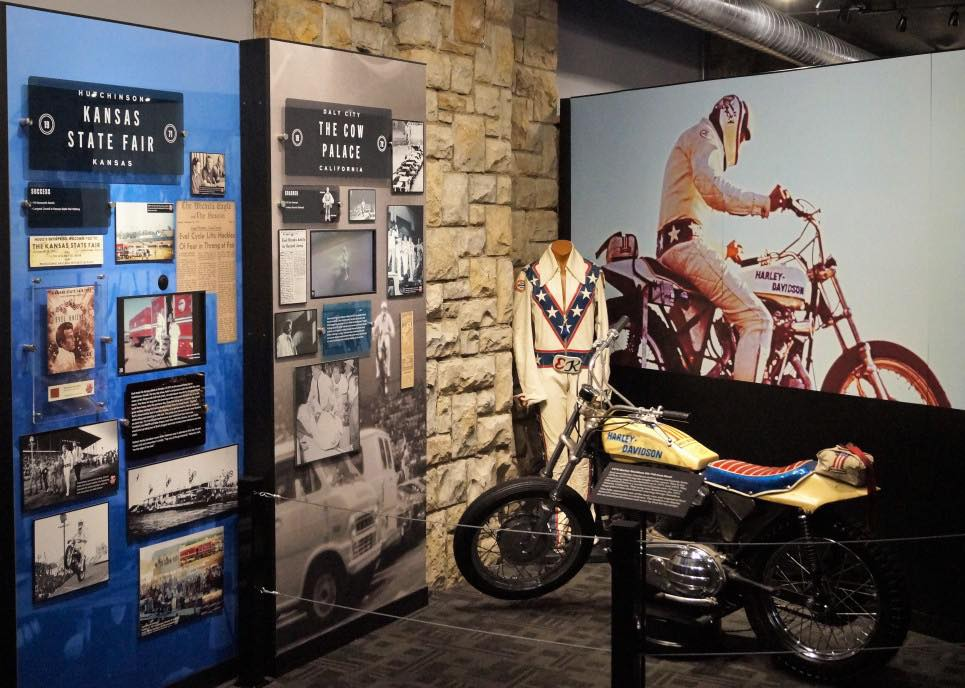 The Evel Knievel Museum in Topeka.