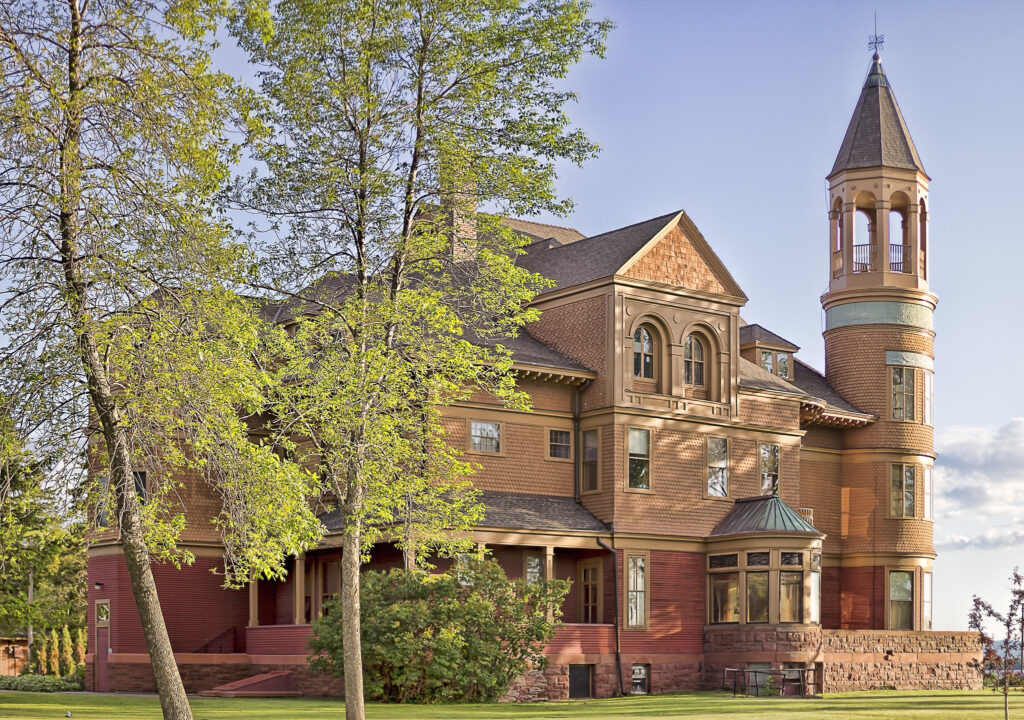 The Fairlawn Mansion in Duluth.