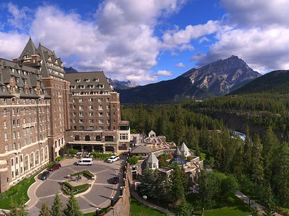 The Fairmont Banff Springs in Canada.