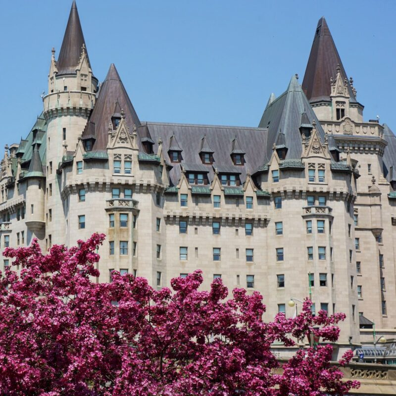The Fairmont Chateau Laurier in Ottawa, Canada.