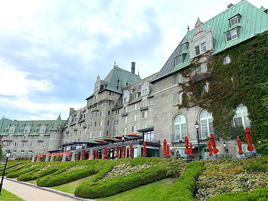 The Fairmont Le Manoir Richelieu in Quebec.