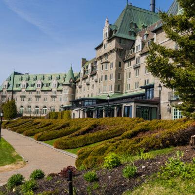 The Fairmont Le Manoir Richelieu in Quebec