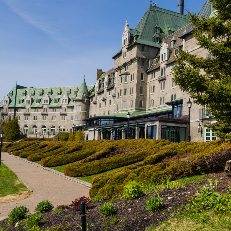 The Fairmont Le Manoir Richelieu in Quebec