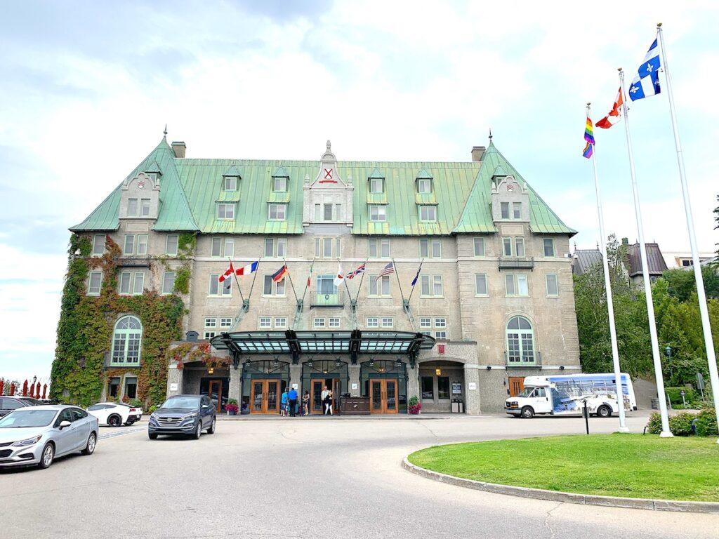 The Fairmont Le Manoir Richelieu in Quebec.