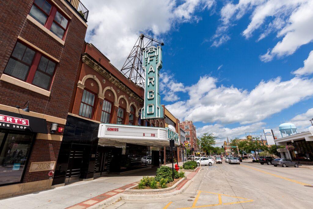 The Fargo Theater in Fargo, North Dakota.