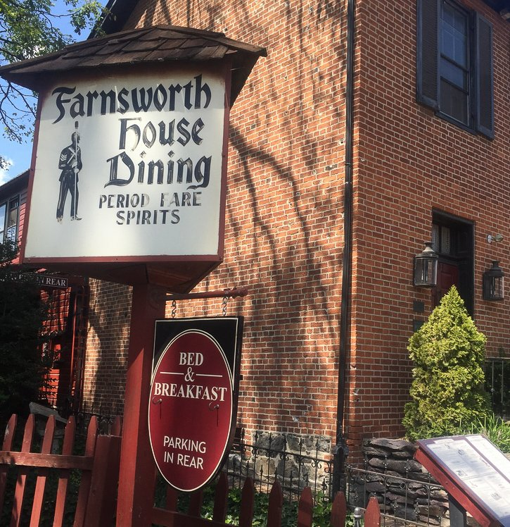 The Farnsworth House Inn in Gettysburg, Pennsylvania