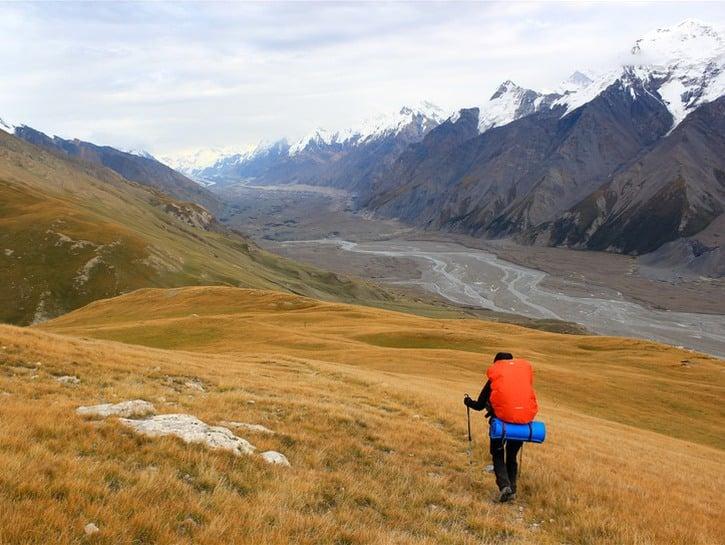 The Fergana Range of the Tian Shan in the Kyrgyz Republic.