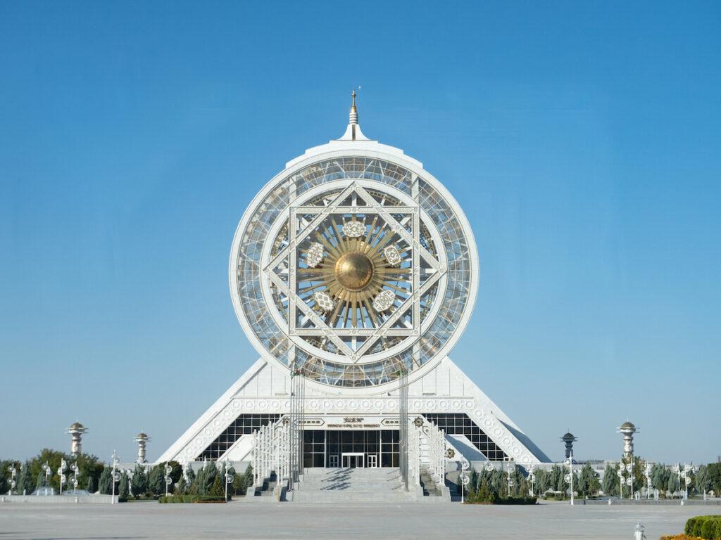 The Ferris Wheel in Ashgabat, Turkmenistan.