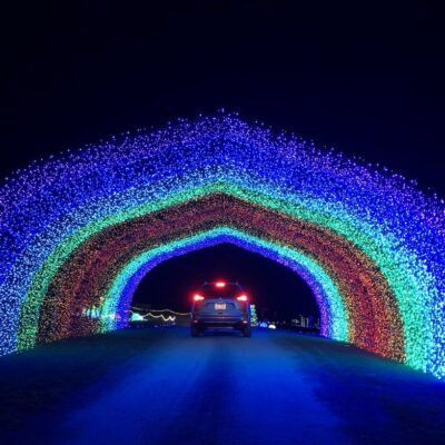 The Festival of Lights at Stone Hedge Golf Course in Tunkhannock.