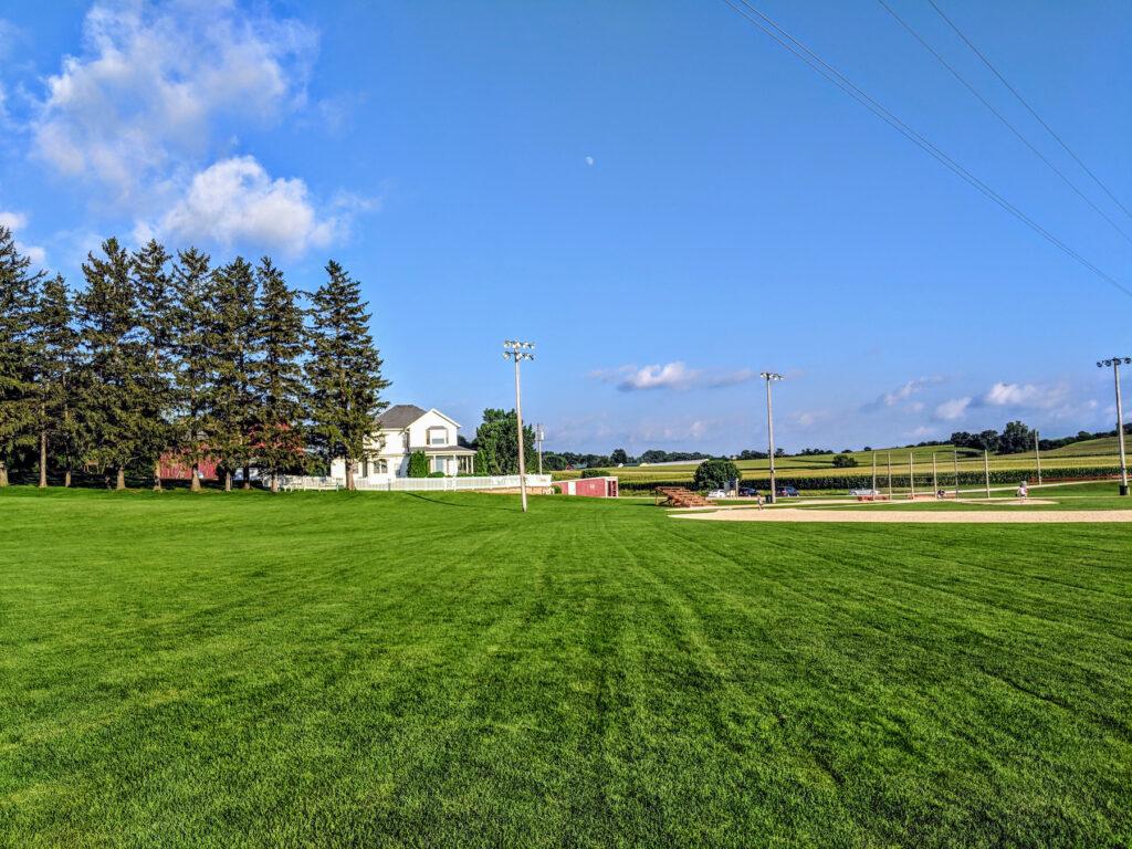 The Field of Dreams movie site in Dyersville, Iowa.