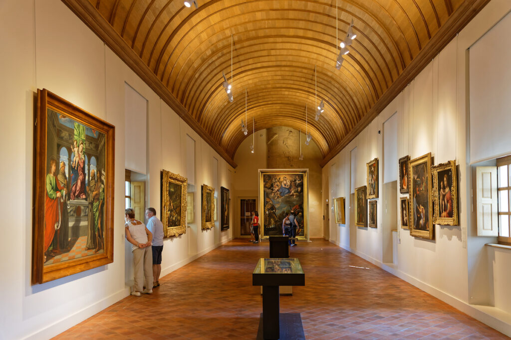The Fine Arts Museum in Dijon, France.