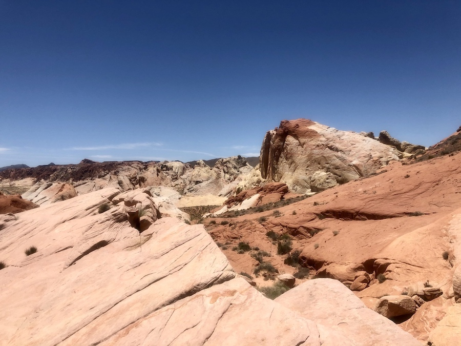 The Fire Wave Trail in Valley Of Fire State Park.