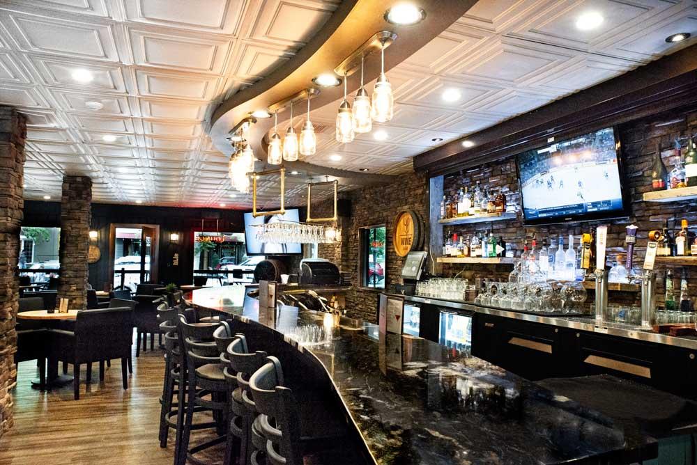 The Fireside Lounge at Bay Shore Inn.