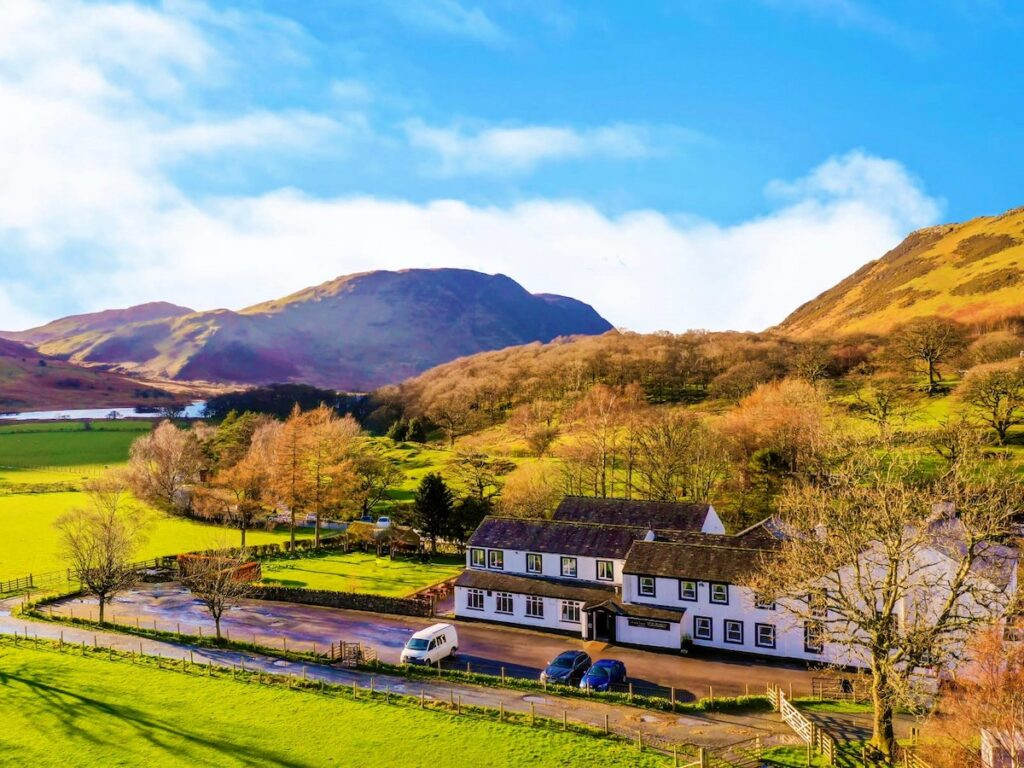 The Fish Inn, now The Buttermere Court Hotel.