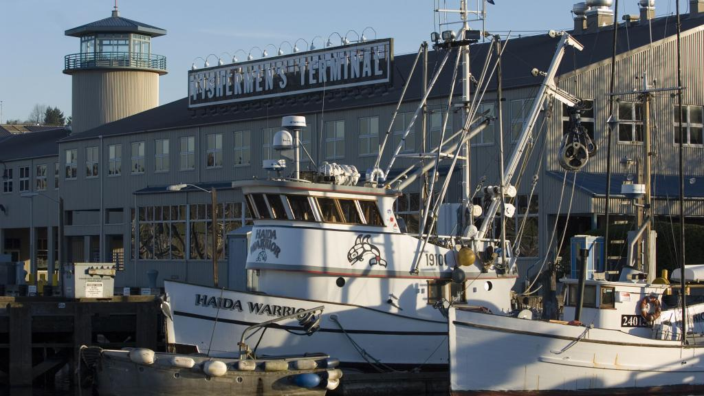 The Fishermans' Terminal in Seattle.