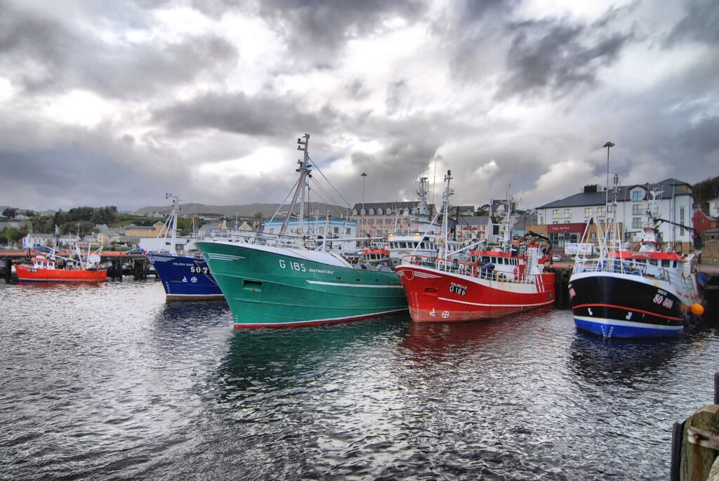 The fishing town of Killybegs in Ireland.