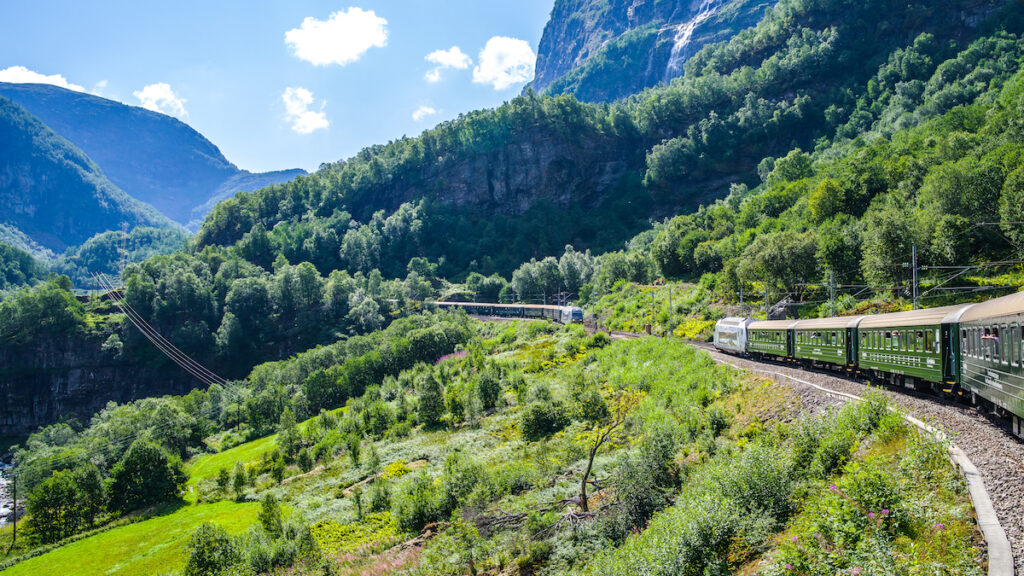The Flam Railway in Norway.