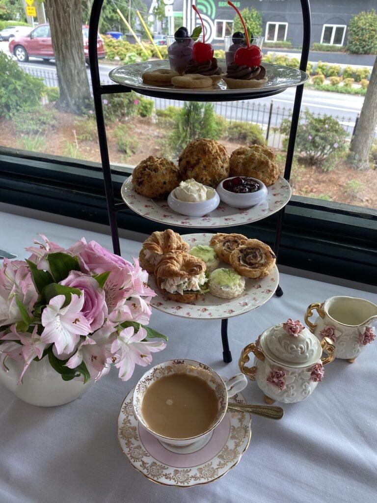 The Flour Box Tea Room and Cafe in Winston-Salem.