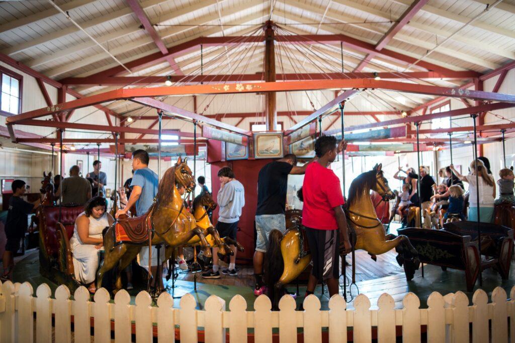 The Flying Horses Carousel at Martha's Vineyard