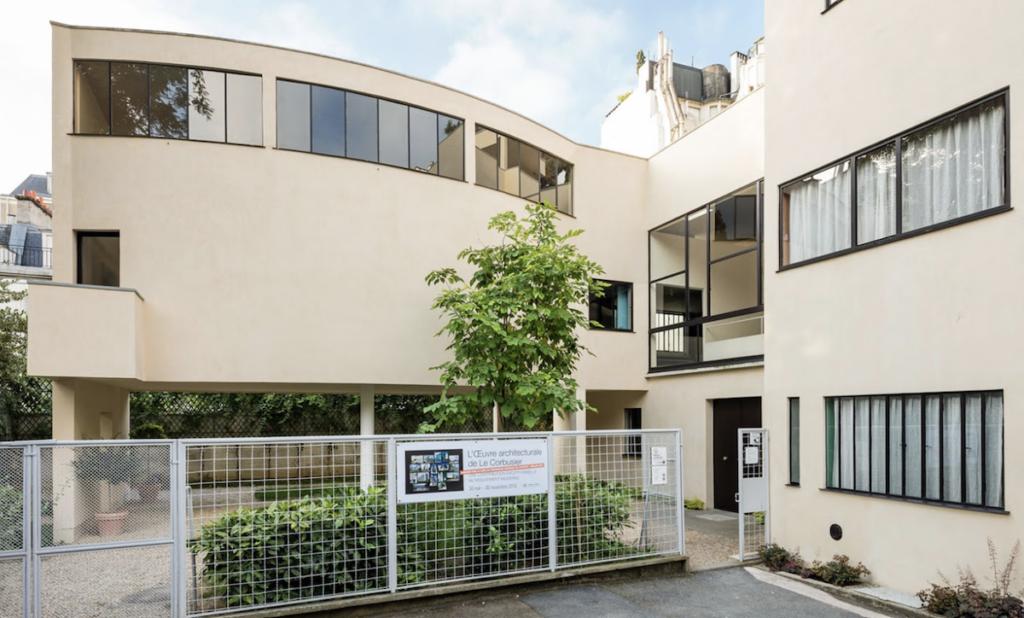 The Fondation Le Corbusier building in Paris.