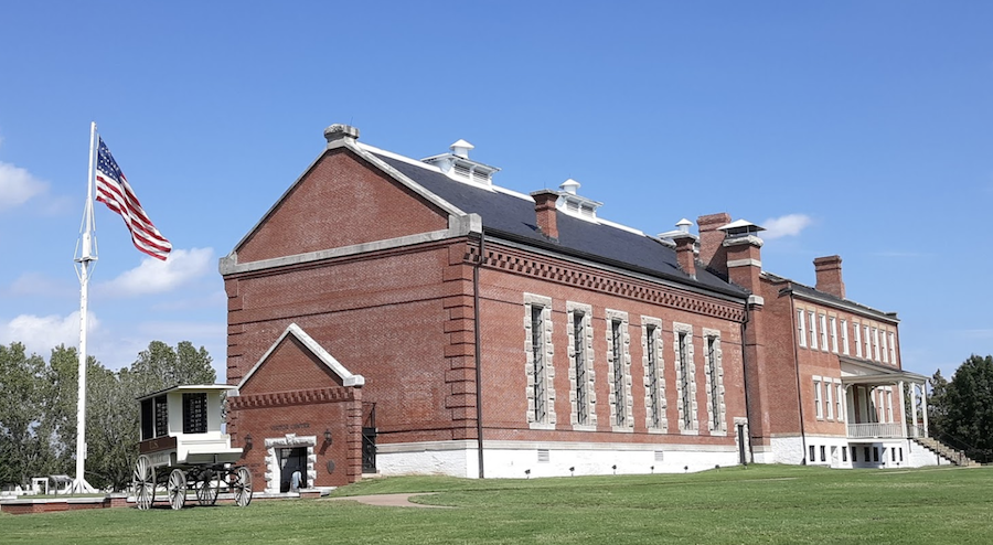 The Fort Smith National Historic Site in Arkasnas.