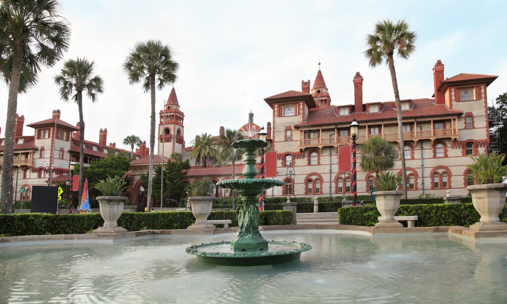 The Fountain of Youth in St. Augustine.