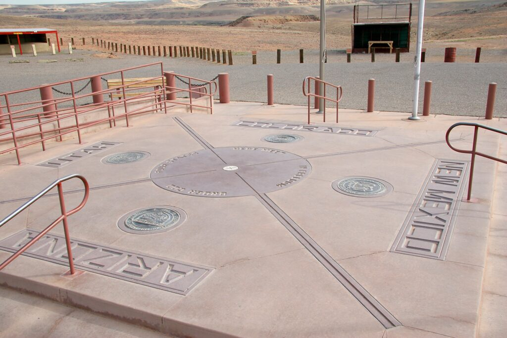 The Four Corners National Monument.