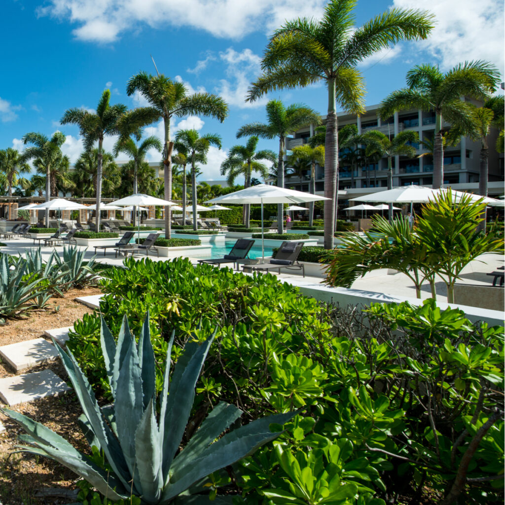 The Four Seasons Anguilla in the Caribbean.