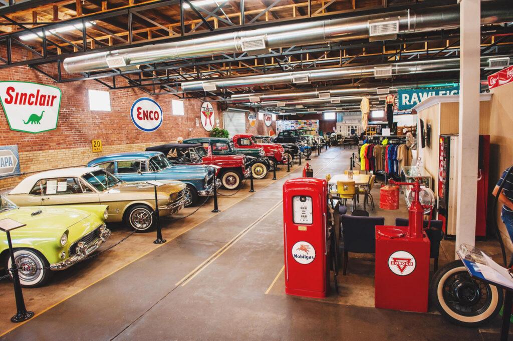 The Four States Auto Museum in Texarkana.